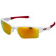 Oakley Quarter Jacket Junior polished white/fire iridium